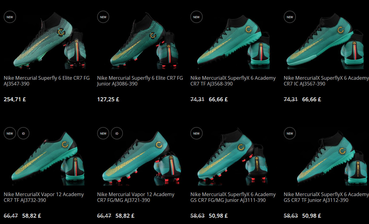 nike boots in r-gol shop